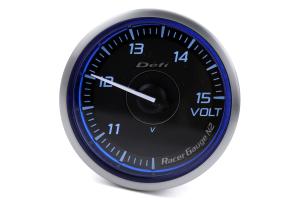Defi DF Blue Racer N2 Volt Gauge 60mm - Universal