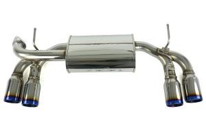 HKS Legamax Premium Axle-Back Exhaust System - Subaru STI 2008-2014 / WRX 2011-2014