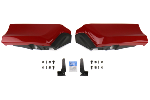 Subaru OEM Paint Matched JDM Aero Splash Guards Rear  - Subaru WRX / STI 2015+
