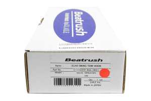 Beatrush Rear Tow Hook Red ( Part Number:BEA S106020TF-RSA)