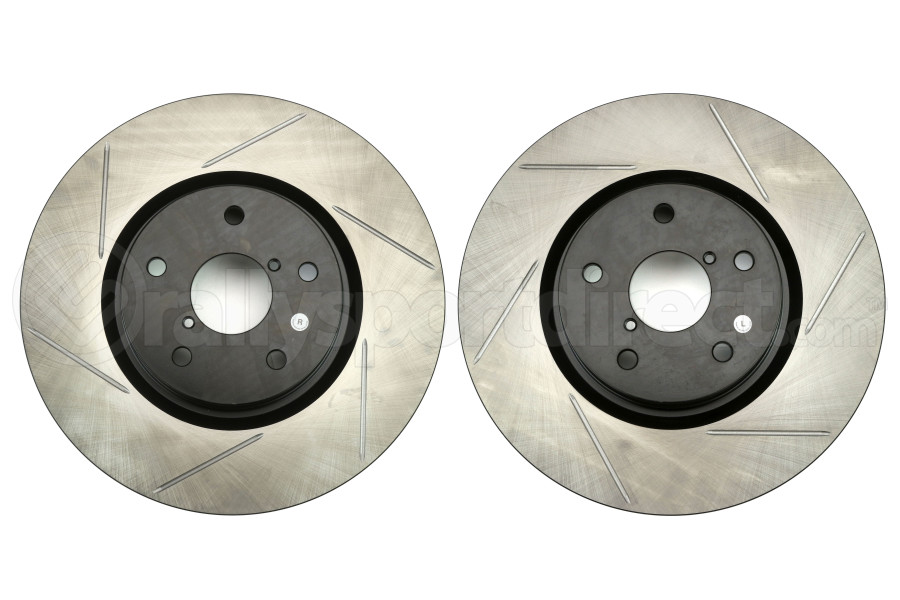 Stoptech Sport Slotted Front Rotor Pair (Part Number:126.47027S-GRP)