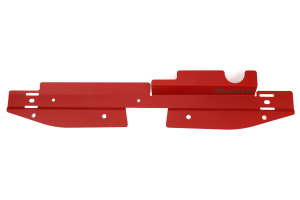 Subtle Solutions Radiator Shroud Red - Subaru WRX 2008-2014 / STI 2008-2014