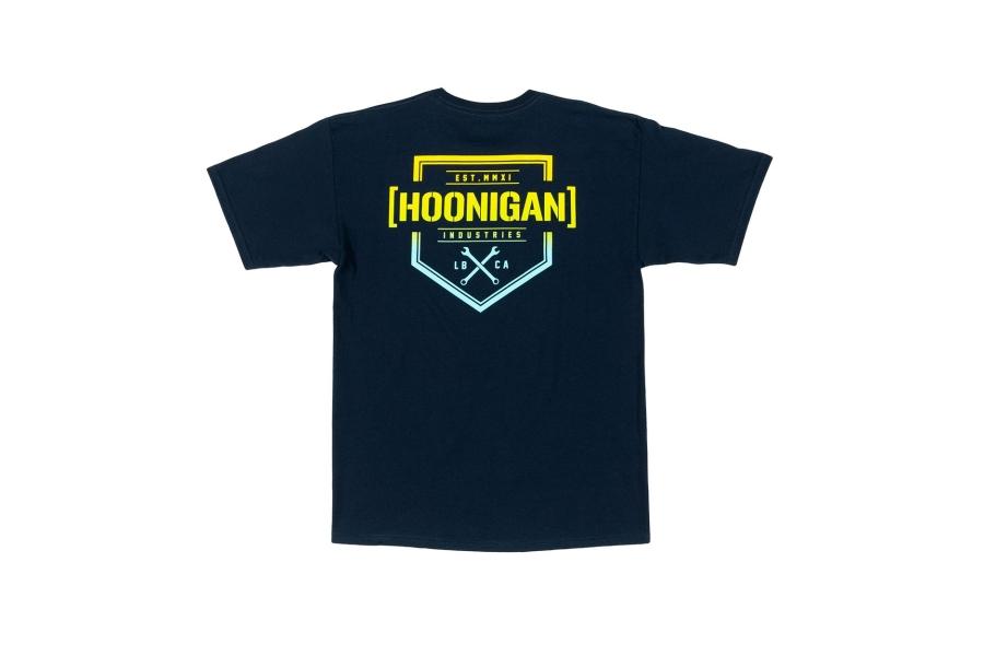 HOONIGAN Bracket X Short Sleeve Navy Tee - Universal