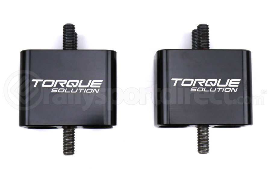 Torque Solution Solid Billet Engine Mounts - Subaru WRX 2002-2014 / STI 2004+