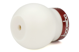 Boomba Racing White Delrin Shift Knob w/ Red Trim - Ford Focus RS 2016+