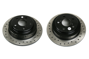 Stoptech Drilled Rear Rotor Pair  ( Part Number: 128.47011G)
