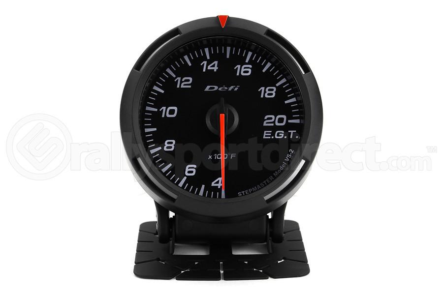 Defi White Racer EGT Exhaust Gas Temperature Gauge Imperial 60mm 400-2000F ( Part Number:DEF1 DF11803)