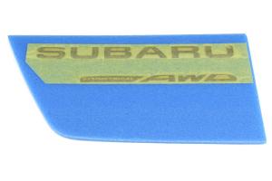 Subaru Black Symmetrical AWD Badge - Universal