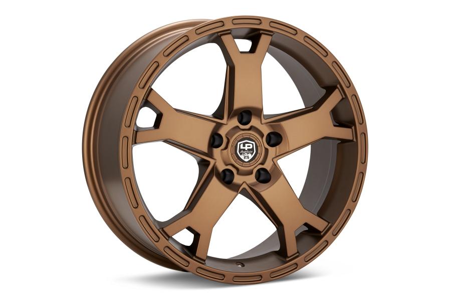LP Aventure LP2 Wheel 17X8 +20 5 x114.3 Bronze - Universal