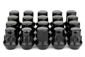 Volk Racing Rays 17 Hex 12X1.25 Lug Nuts Black (Part Number: W1712125B)