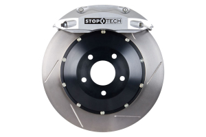 Stoptech ST-40 Big Brake Kit Front 328mm Silver Slotted Rotors (Part Number: )