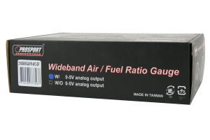 ProSport Wideband Air Fuel Ratio w/O2 Sensor Green/White 52mm (Part Number: )