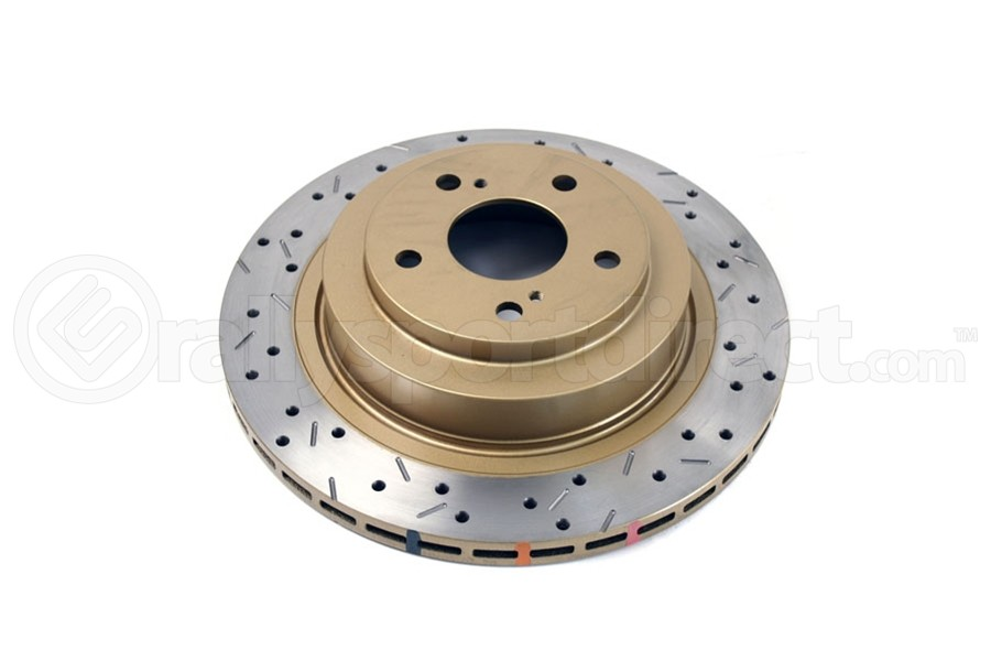 DBA 4000 Series Drilled/Slotted Rear Rotor Single (Part Number:4653XS)