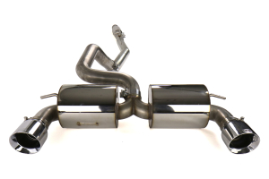 AWE Touring Edition Cat Back Exhaust Resonated Chrome Tips - Ford Focus RS 2016+