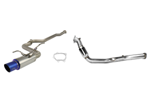 Turbo-Back Exhaust Titanium Tip System 08-14 WRX/11+ STi Sedan ( Part Number:RSD TTBS08-14SED)