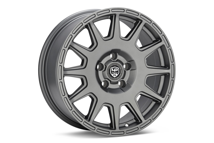 LP Aventure LP1 Wheel 15x7 +15 5x100 Matte Grey - Universal
