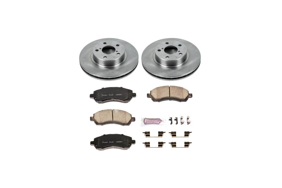 Power Stop Autospecialty Brake Kit Front - Subaru Models (inc. 1997-2001 Impreza / 1997-2000 Legacy)