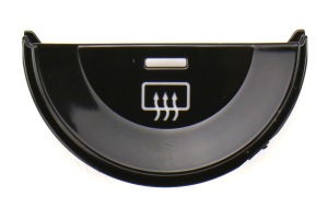 Subaru JDM Dual Climate Piano Black Knob Filler Panel Kit - Subaru Models (inc. 2015+ WRX/STI / 2014+ Forester)
