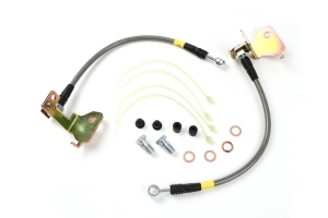 Stoptech Stainless Steel Brake Lines Rear (Part Number: )