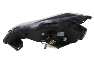 Spec-D Projector Headlight Black Housing With LED - Scion FR-S 2013-2016