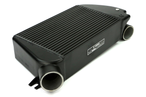 Mishimoto Performance Top-Mount Intercooler w/Charge Pipe Red/Wrinkle Black (Part Number: )