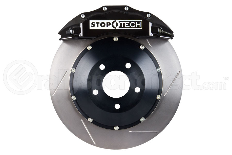 Stoptech ST-60 Big Brake Kit Front 355mm Black Slotted Rotors (Part Number:83.625.6700.51)