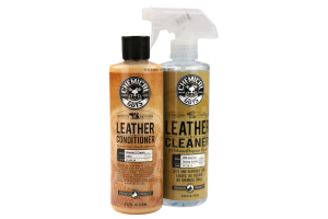 Chemical Guys Leather Cleaner and Conditioner Complete Leather Care Kit - Universal