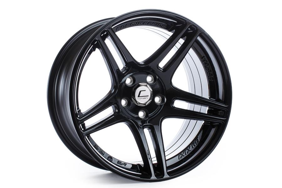 Cosmis Racing Wheels S5R 18x10.5 +20 5x114.3 Black - Universal