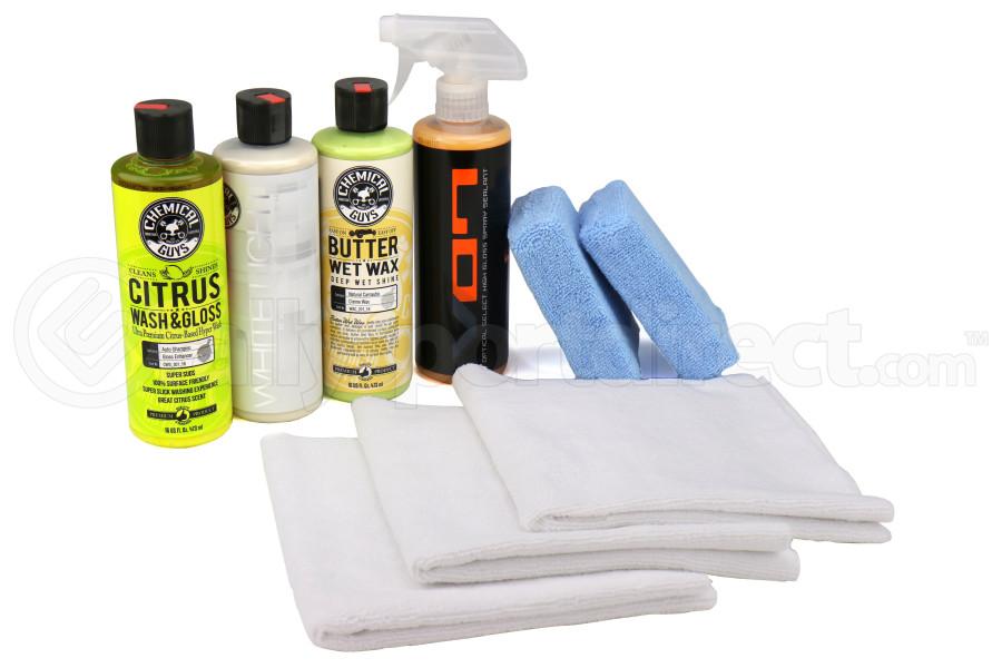 Chemical Guys White Car Care Kit (9pc) - Universal