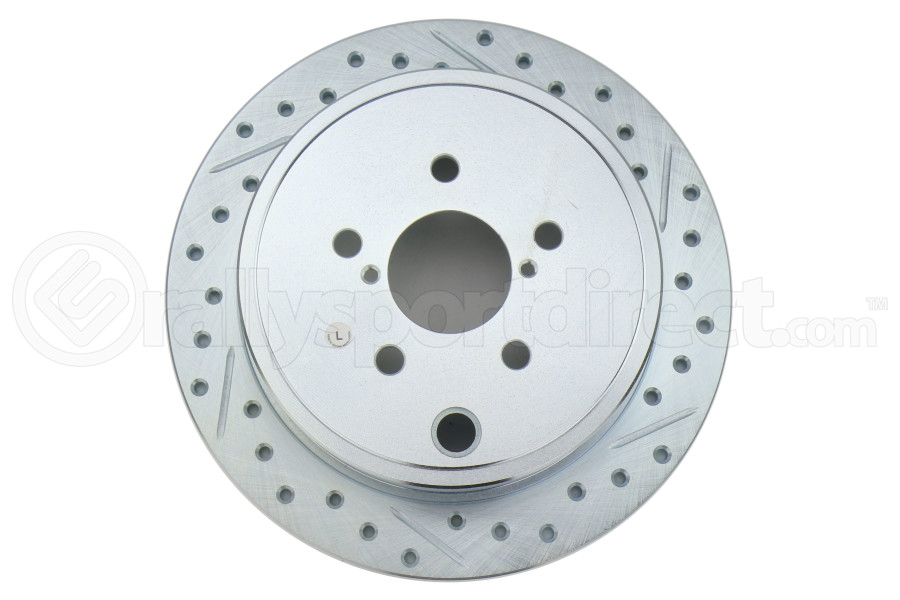 Stoptech C-Tek Sport Drilled and Slotted Rotor Single Rear Left (Part Number:227.47029L)