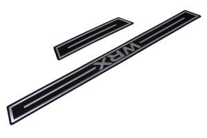 Subaru Door Sill Trim WRX Logo - Subaru WRX / STI 2015-2021