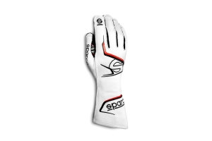 Sparco Arrow Racing Gloves White - Universal