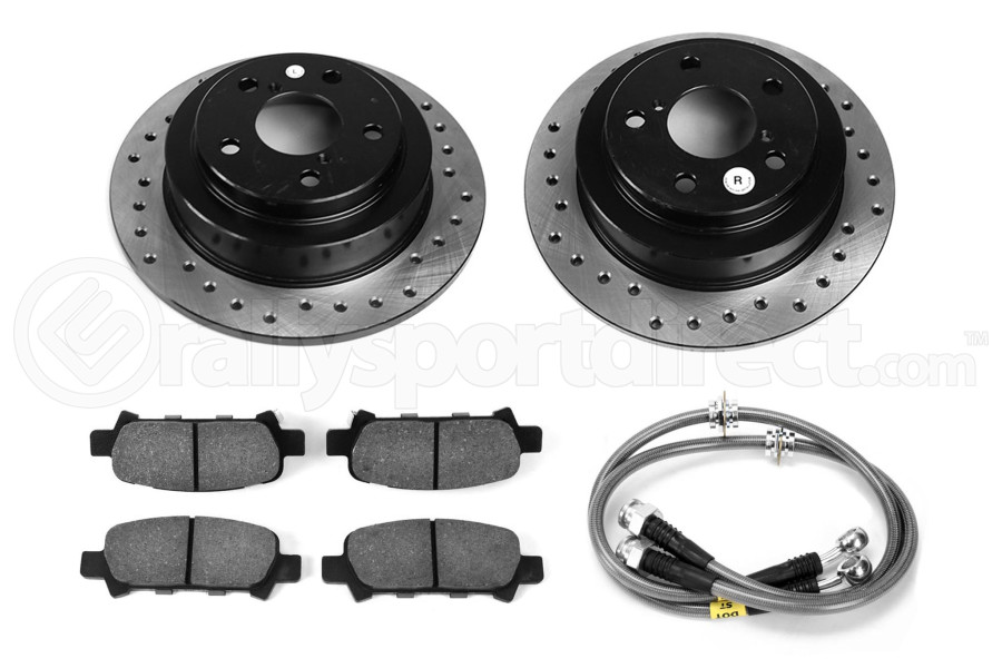 Stoptech Sport Kit Drilled Rear (Part Number:979.47000R)