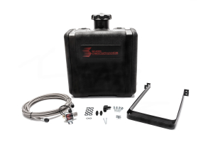 Snow Performance 7 Gal. Water-Methanol Tank Upgrade Braided Stainless Line - Universal