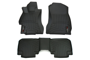 Weathertech Front and Rear Floorliners Black (Part Number: )