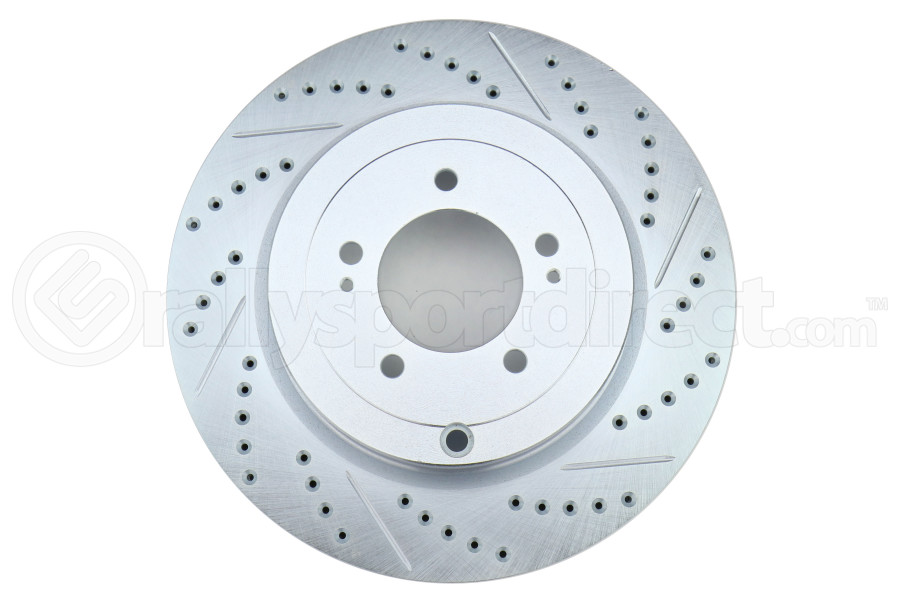 Stoptech C-Tek Sport Drilled and Slotted Rotor Single Rear Left - Mitsubishi Evo X 2008-2015