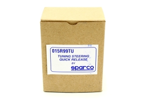 Sparco Steering Wheel Quick Release Bolt-On Black Competition ( Part Number:SPR1 015R99TU)