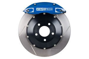 Stoptech ST-40 Big Brake Kit Front 328mm Blue Slotted Rotors (Part Number: )
