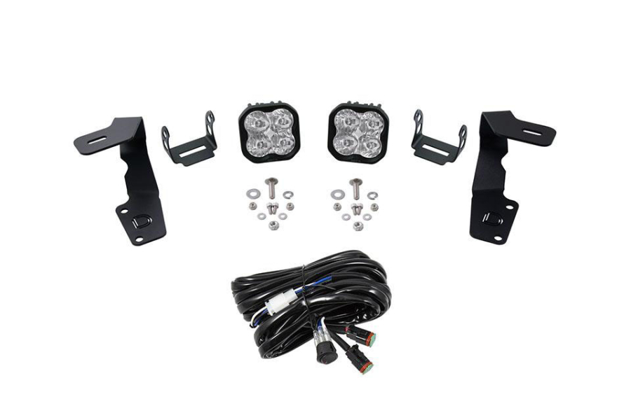Diode Dynamics Ditch Light Kit SS3 Pro White - Subaru WRX / STI 2015 - 2020