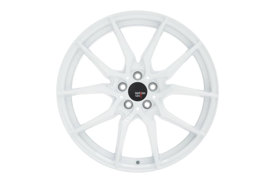 Option Lab Wheels R716 18x8.5 +35 5x114.3 Onyx White - Universal