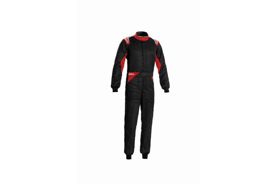 Sparco Sprint Racing Suit Black / Red - Universal