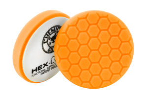 Chemical Guys Hex-Logic Medium-Heavy Cutting Pad Orange 5.5 Inch - Universal