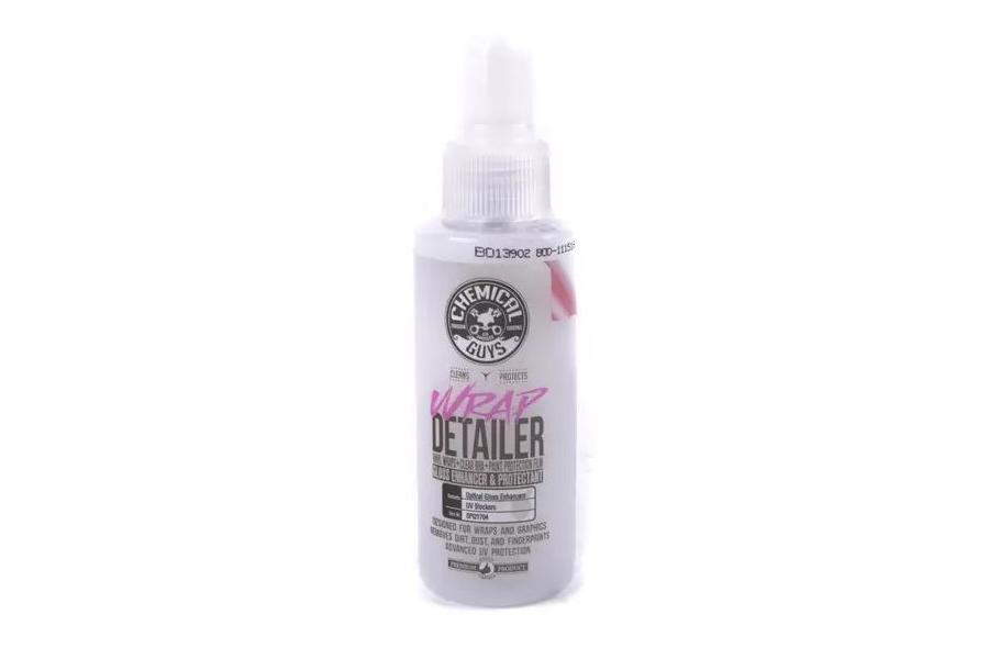 Chemical Guys Wrap Detailer Gloss Enhancer and Protectant (4 oz) - Universal