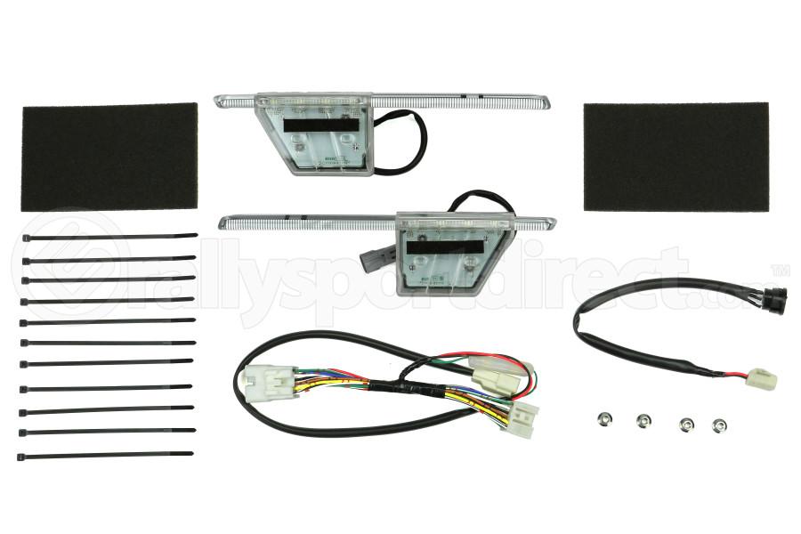 STI JDM LED Fog Light Bezel Accessory Liner Kit (Part Number:H4517VA040)