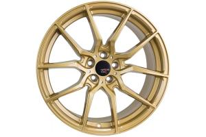 Option Lab Wheels R716 18x8.5 +40 5x108 Top Secret Gold - Universal
