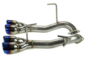 ETS Extreme Axle Back Exhaust System Titanium Tip No Mufflers (Part Number: )