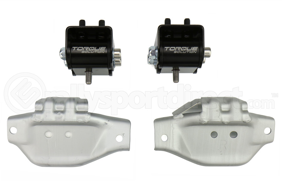 Torque Solution Engine Mounts w/ Mount Plates  - Subaru WRX 2002-2014 / STI 2004+