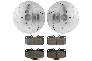 Hawk Performance Rotors w/ HPS 5.0 Pads Kit Front (Part Number: )