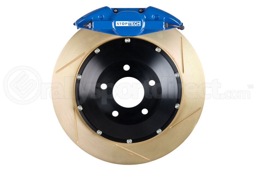 Stoptech ST-22 Big Brake Kit Rear 328mm Blue Zinc Slotted Rotors ( Part Number:STP 83.622.0023.23)