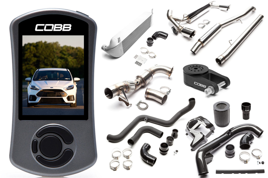 COBB Tuning Stage 2+ Power Package Silver - Ford Focus RS 2016+